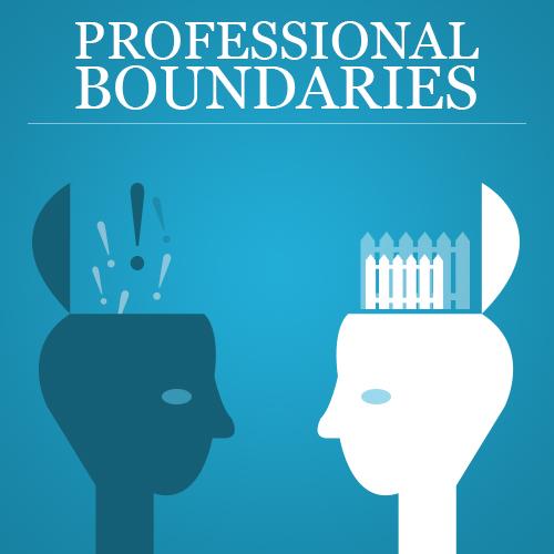 professional boundary