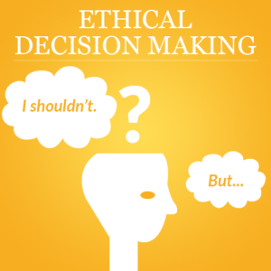 ethical conduct financial decision making Point out that any unethical conduct in accounting practice will, in any way, cause   in this sense, fraud leads to a lack of confidence in the accounting / financial   decision-making based on ethical principles includes the application of ethical.