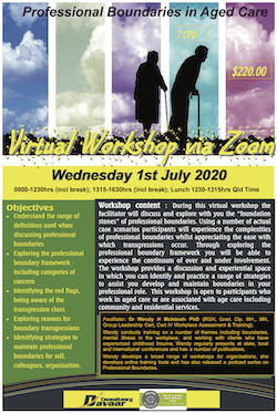 Professional Boundaries in Aged Care July 2020