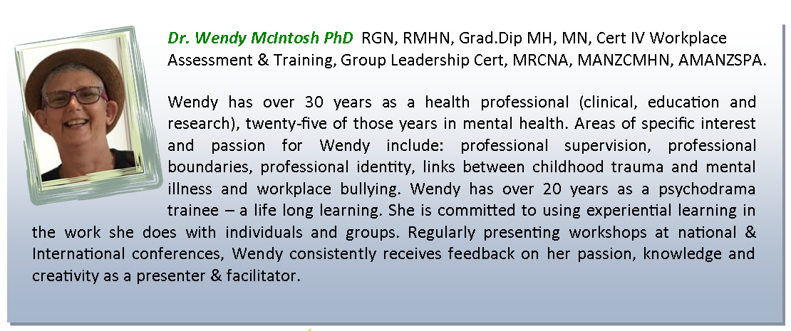 Bio Wendy McIntosh PhD